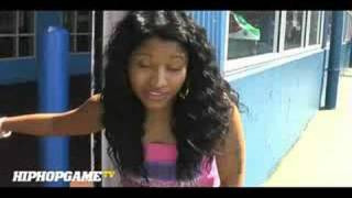 Nicki Minaj Interview Before She Was Famous (Talks Meeting Lil Wayne) 2008