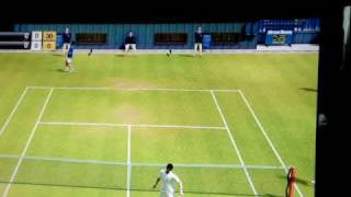 Virtua Tennis 2009 XBOX 360 Match