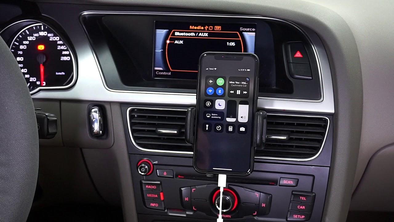 Audi A5 2018 >> AUX vs A2DP (Integrerad bluetooth) Audi A4 / A5 / Q5 ...