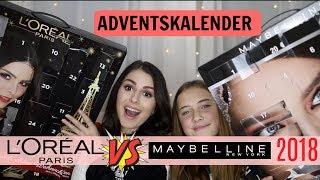 OHA!!! 😳 Maybelline VS L'oréal ADVENTSKALENDER 2018 l Welcher ist besser??