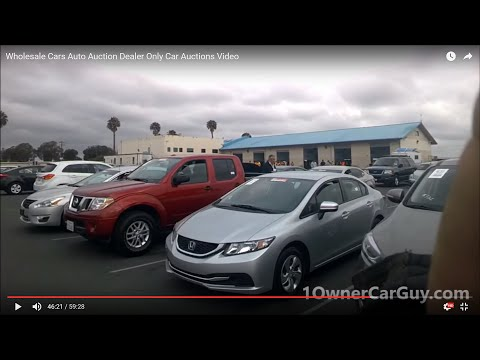 Wholesale Cars Auto Auction Dealer Only Car Auctions Video