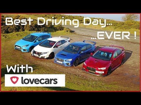 Can an Evo X FQ400 beat a Focus RS, Subaru WRX STi and Type R ?
