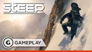Taming the Alps - Steep Gameplay