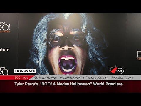 Tyler Perry's BOO! A Madea Halloween World Premiere