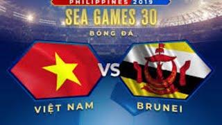Trực Tiếp Seagame 30 tại philippines I Trực Tiếp Việt Nam vs Brunei I SeaGame 30 Môn bóng đá nam