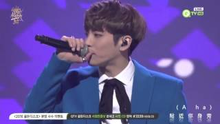 【繁體中字】160121 鐘鉉-Crazy(Guilty Pleasure)+Deja-Boo(데자-부) @Golden Disc Awards