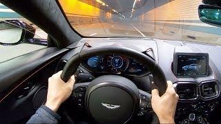 2019 Aston Martin Vantage - Night POV Test Drive by Tedward (Binaural Audio)