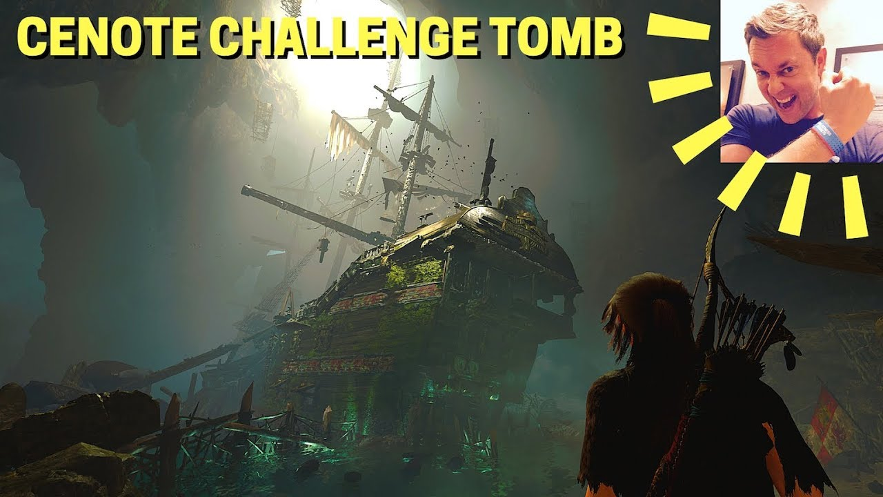 Shadow of the Tomb Raider: Cenote Challenge Tomb Walkthrough/Guide (San  Cordoba, Spanish Galleon)