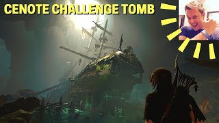 Shadow of the Tomb Raider: Cenote Challenge Tomb Walkthrough/Guide (San Cordoba, Spanish Galleon)