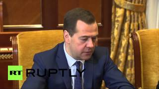 Russia: We support Palestinian statehood - PM Medvedev