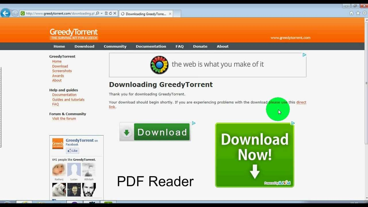 utorrent how to set download times