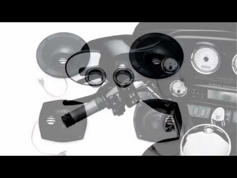 BOOM! Audio Ultra Glide Motorcycle Speaker Upgrade System