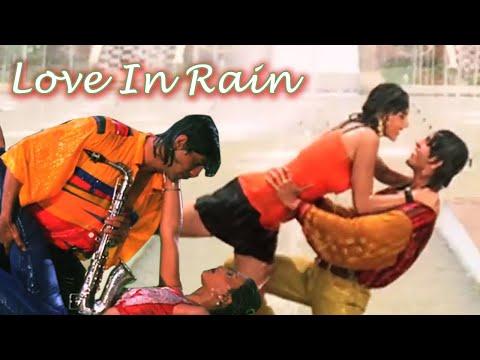Love in Rain, Chunky Pandey, Somy Ali, Teesra Kaun - Romantic Song