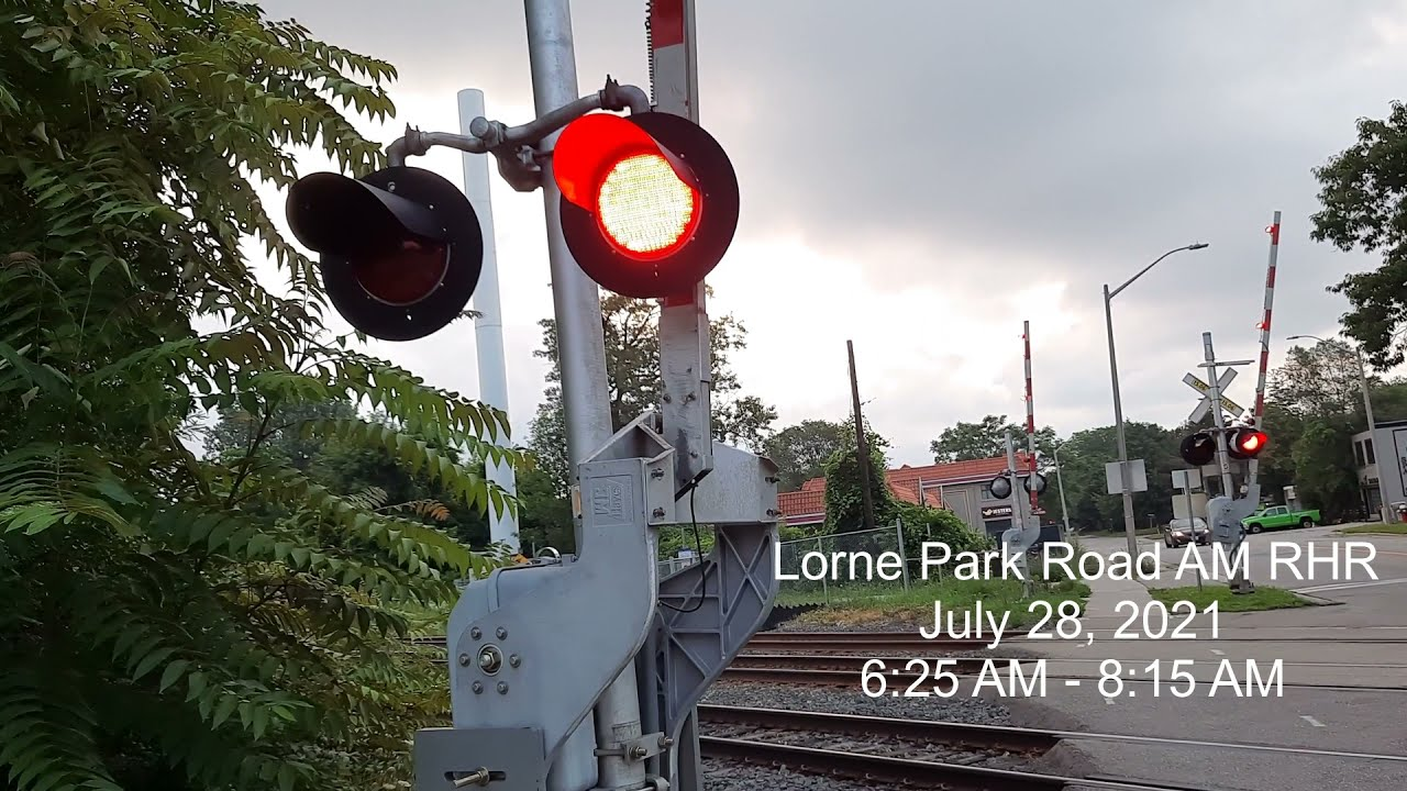 Download Morning Rush-Hour-Railfanning EP 8: 10 GO Trains at Lorne Park Road Level crossing! July 28, 2021
