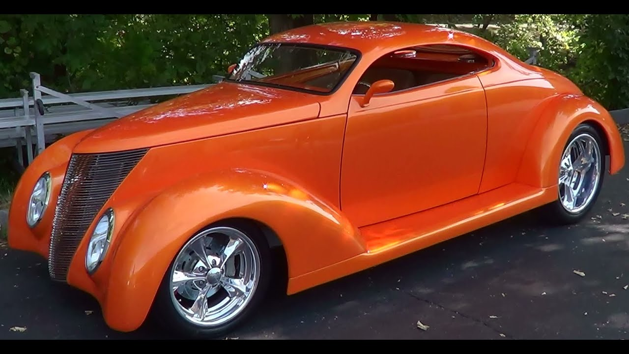 1937 Ford 5 Window Street Rod - YouTube