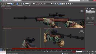 3DS MAX Animating Mini 14f draws (ВИДЕОУРОКИ; 3ds Max; 3D Modeling; 3D Моделирование)