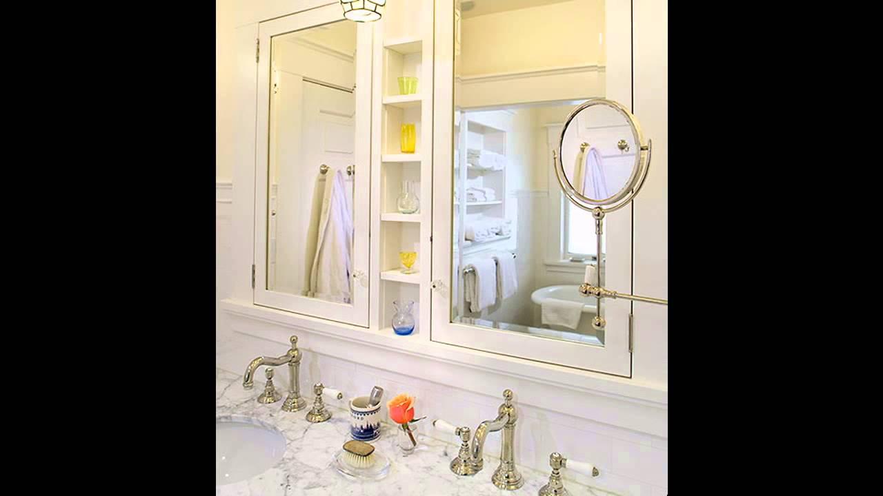 Cool Bathroom medicine cabinet ideas - YouTube