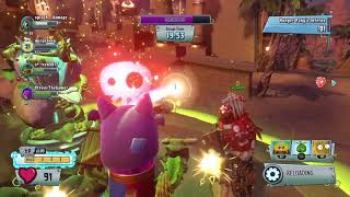 Plants vs Zombies GW2_Sasquash Normal Level with All Cactus