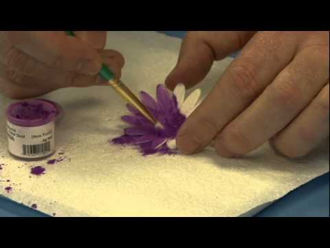 How To Use Cake Decorating Dusts Global Sugar Art