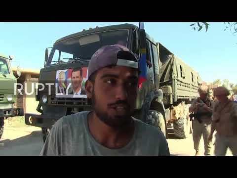 Syria: Russian army