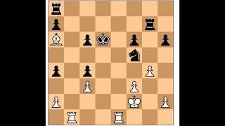 Chess Epic Game Mikhail Tal vs Hans Joachim Hecht
