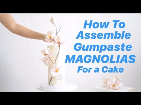 how-to-assemble-magnolia-sugar-flowers-for-a-wedding-cake