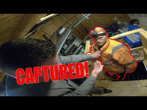 *CAPTURED* SNEAKING IN THE LITTLE BROTHER HOUSE!