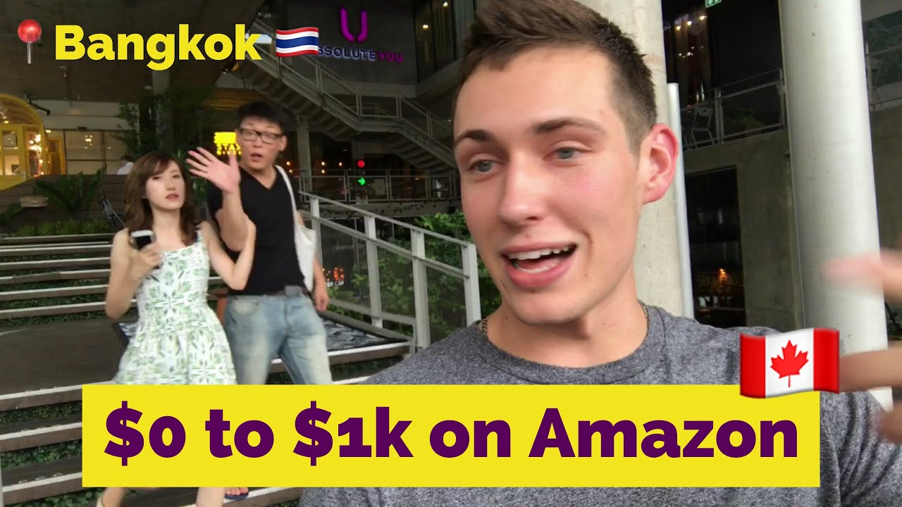 Graham Winship: Zero to $1,000/mo on Amazon FBA in 1 yr! ?His digital nomad success story, Thailand
