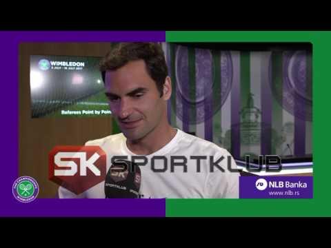 Roger Federer za Sport Klub
