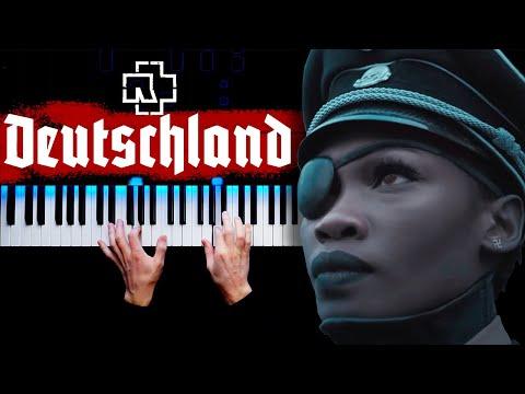 Rammstein - Deutschland | Piano Cover