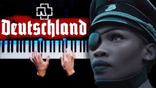 Rammstein - Deutschland   Piano cover
