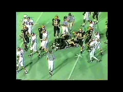 1995 #11 Alabama vs. Vanderbilt Highlights
