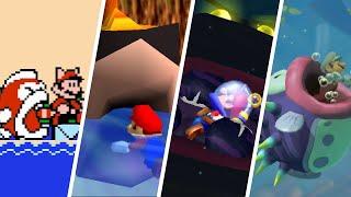 Evolution of Mario Getting Eaten (1988-2021)