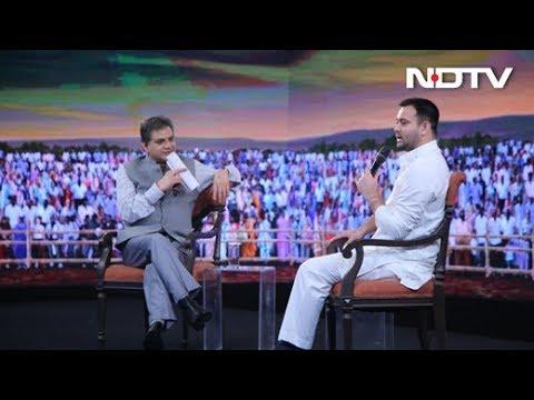 #NDTVYuva - My Sources Say Nitish Kumar Is Angling To Flip Again: Tejashwi Yadav