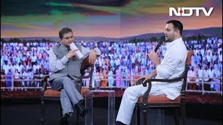 #NDTVYuva - My Sources Say Nitish Kumar Is Angling To Flip Again: Tejashwi Yadav