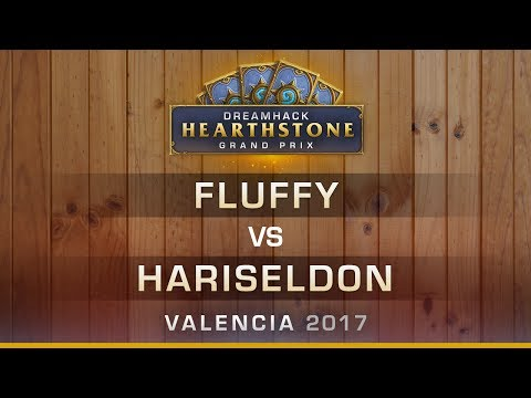 HS - Fluffy vs Hariseldon - Hearthstone Grand Prix DreamHack Valencia 2017