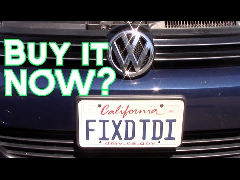 Is NOW The Time To Buy A VW TDI Dieselgate Car?