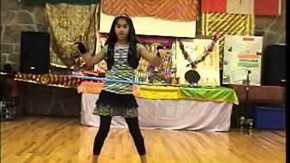 Diya Hula Hoop Dance