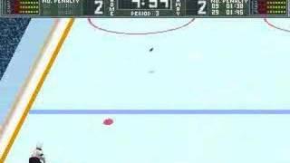 Brett Hull Hockey 95 PC - Gameplay part 2 of 2