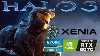 Xenia Halo 3 -  i7 8700K  RTX 2070