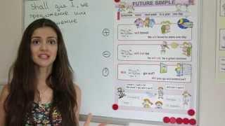 Future Simple/Indefinite. Видео урок 2.
