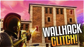 FORTNITE WALLHACK GLITCH in TILTED TOWERS! - NEW GOD MODE SPOT UNDER THE MAP (WORKING GLITCH)