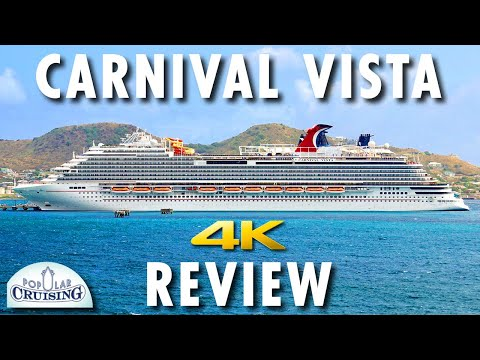 Carnival Vista Tour & Review ~ Carnival Cruise Line ~ Cruise Ship Review [4K Ultra HD]