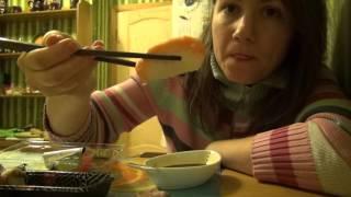 Суши с лососем из Якитории ☕ вкусный обзор еды