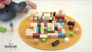 Kidkraft Wooden Block Set