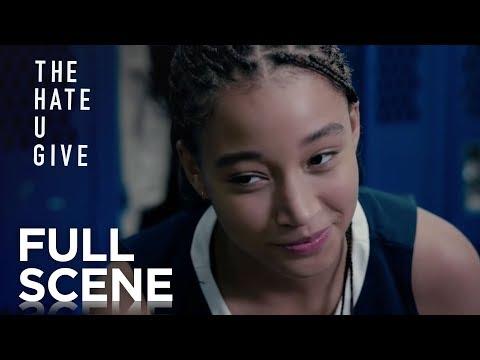 King Confronts Maverick - Police Harassment | The Hate U Give (2018)