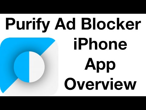 Purify | iPhone Ad Blocker Overview
