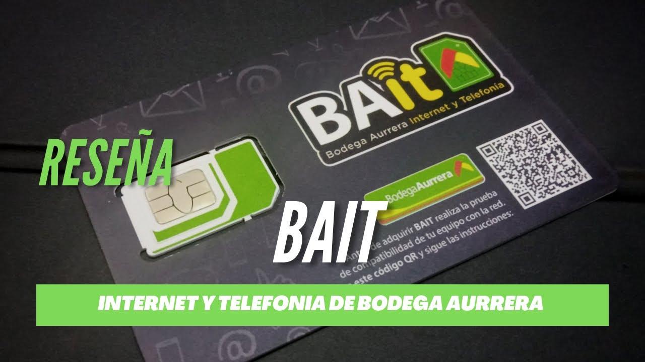 Download Probando el servicio de Bait - Nueva SIM de bodega Aurrera con internet económico - 20gb x $100MXN