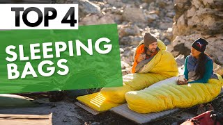 TOP 4: Best Slęeping Bags 2021! | Camping, Hiking & More