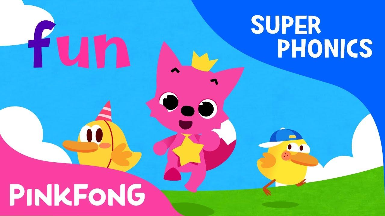 Un Fun Run Super Phonics Pinkfong Songs For Children